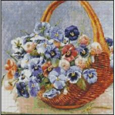 NG002 Korpa sa cvećem 1:1 (22x22,5cm)