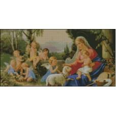 NG045 Anđeo čuvar 2 1:1  (46x23cm)