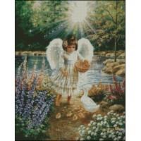 NG047 Anđeo 4 1:1  (32x41cm)