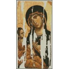 NG057 Bogorodica Odigitrija Hilendarska 1:1 (19x36,5)