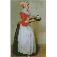 NG062 Devojka sa čokoladom (Žan Etjen Liotar) 1:1 (21x33cm)