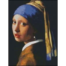 NG072 Devojka sa bisernom minđušom (Vermer) 1:1 (23x31cm)