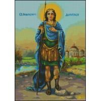 NG089 Sv.Dimitrije 2 1:1 (23x31,5cm)