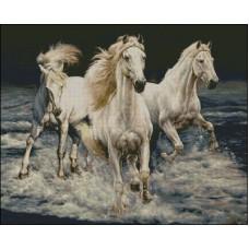 NG117 Konji u trku 1:1 (46x37cm)