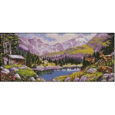 NG243 Planinski pejzaž 1:1 (46x20cm)