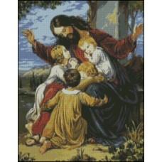 NG255 Isus sa decom 1:1 (28x35cm)