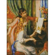 NG273 Devojke za klavirom (Renoar) 1:1 (30x40)