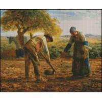NG310 Sadnja krompira  (Millet) 1:1 (35x28,5cm)