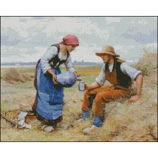 NG312 Doručak  ( Julian Dupre) 1:1 (41x33cm)
