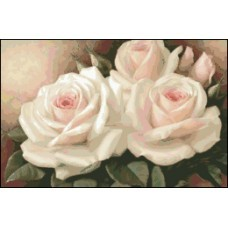 NG354 Bele ruže 1:1 (30x20cm)