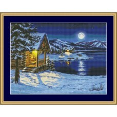 NG430 Zima na jezeru 1:1 (35x26)