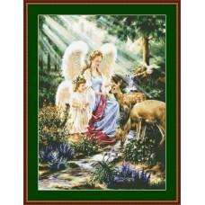 NG437 Anđeo čuvar 8 1:1 (35x42cm)