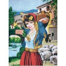 GOBLEN PAR060 DEVOJKA SA KRČAGOM (50x68cm)