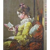 U003 Devojka koja čita (40x41cm)