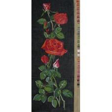 U015 Crvene ruže (20x54cm)