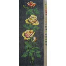 U016 Žute ruže (20x54cm)