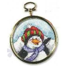 KO 6260 Medaljon - Pingvin (7,5)
